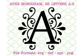 APEX FONT - APEX MONOGRAM - SVG FONT