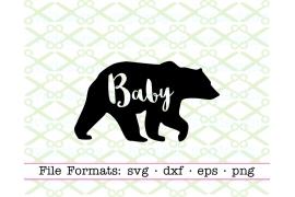 BABY BEAR SVG FILE