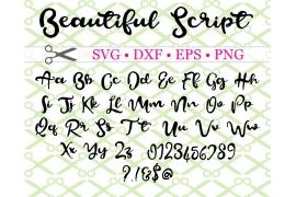 BEAUTIFUL SCRIPT SVG FONT
