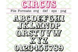 CIRCUS SVG FONT