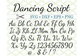 DANCING SCRIPT SVG FONT