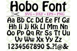 HOBO FONT MONOGRAM SVG FONT
