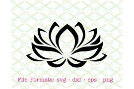LOTUS FLOWER SVG FILE
