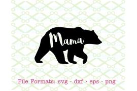 MAMA BEAR SVG FILE