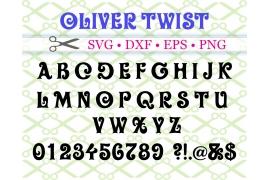 OLIVER TWISTSVG FONT
