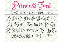 PRINCESS SVG FONT