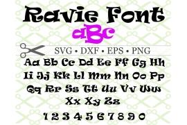 RAVIE SVG FONT