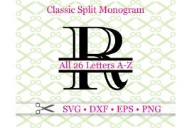 CLASSIC SPLIT MONOGRAM SET