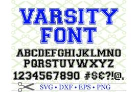 VARSITY SVG FONT