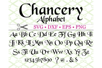 CHANCERY SVG FONT
