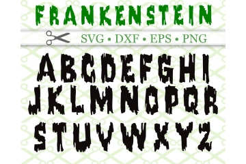 FRANKENSTEIN SVG FONT