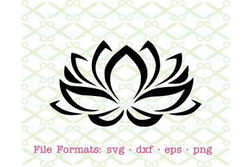LOTUS FLOWER SVG FILE