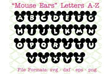 MOUSE EARS SVG FONT
