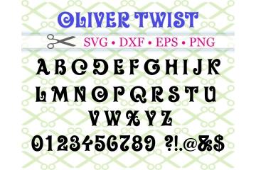 OLIVER TWIST SVG FONT